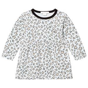 Livly Girls Dresses White Lotta Dress Leo Print