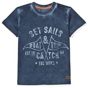 Me Too Boys Tops Blue Lasse 277 Top Dark Denim