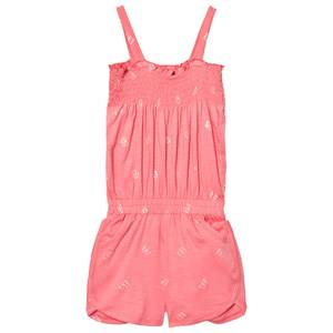 Me Too Girls All in ones Pink Laila 296 Romper Strawberry Pink