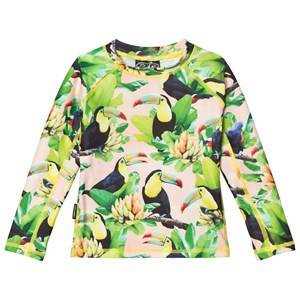 Molo Unisex Swimwear and coverups Multi Neptune Long Top Toucans