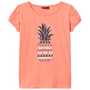 Me Too Girls Tops Pink Lee 307 Top Bright Coral