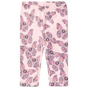 Me Too Girls Bottoms Pink Laila 301 Leggings Capri Crystal Rose