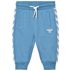 Hummel Boys Bottoms Blue Ayo Pants Cendre Blue