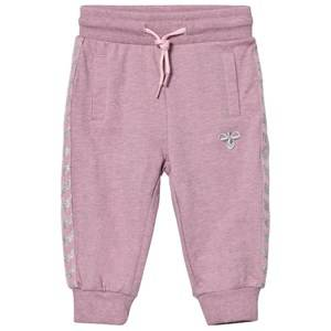 Hummel Girls Bottoms Pink Ayo Pants Zephyr