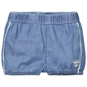 Hummel Girls Shorts Blue Dorit Shorts Denim