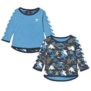 Hummel Boys Jumpers and knitwear Blue Jamina Reversible Tee Blue