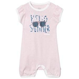Hummel Girls All in ones Pink Loralai Romper Chalk Pink