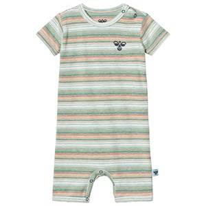 Hummel Boys All in ones Multi Strive Romper Multi Color Green