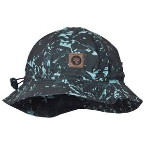 Hummel Boys Headwear Navy Jaco Sunhat Multi Color Blue