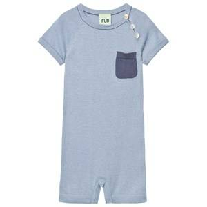FUB Unisex All in ones Blue Baby Body Dusty Blue