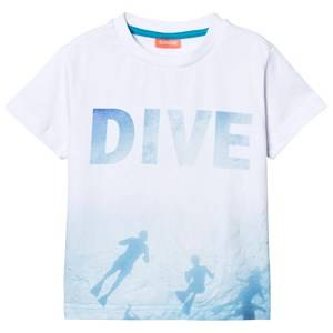 Sunuva Boys Tops White White Photographic Diver Tee