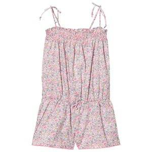 Sunuva Girls All in ones Pink Liberty Floral Playsuit