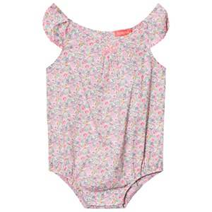 Sunuva Girls All in ones Liberty Floral Baby Romper