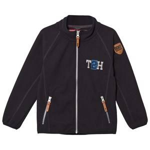 Ticket to heaven Unisex Fleeces Blue Jacket Fleece Matlas 1/1 Sleeves Total Eclipse Blue