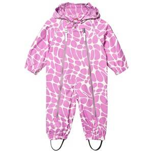 Ticket to heaven Unisex Coveralls Pink Suit Nell With Detachable Hood Allover Violet Rose