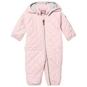 Ticket to heaven Unisex Coveralls Pink Padded Coverall Peach Skin Rose