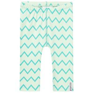 Geggamoja Girls Bottoms Green Tights Light Mint And Mint