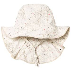 Soft Gallery Girls Headwear White Val Hat Gardenia Sprinkle