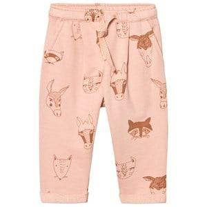 Soft Gallery Girls Bottoms Pink Taylor Pants Rose Cloud Animals Print