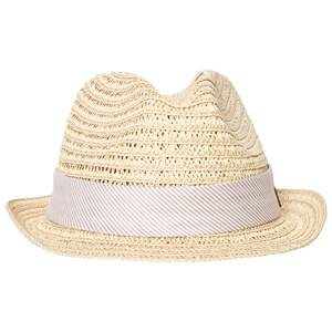 Melton Unisex Headwear Grey Straw Hat Summer Dust