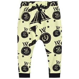 Koolabah Unisex Bottoms Yellow Victory Slouch Pants Yellow/Black
