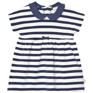 Hust&Claire; Girls Dresses Blue Striped Dress Blue Moon