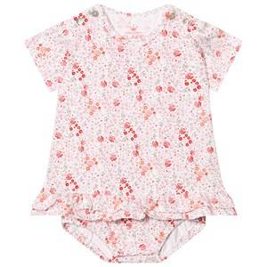 Hust&Claire; Girls Dresses Floral Baby Body Dress White