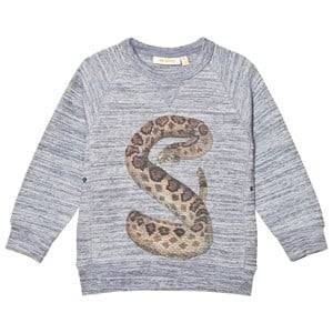 Soft Gallery Unisex Jumpers and knitwear Blue Kipp Sweater Neppy Stormy Blue Rattle