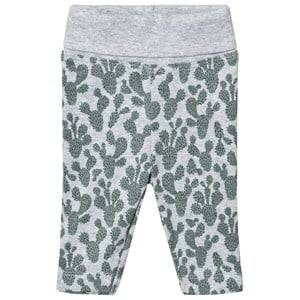 Petit by Sofie Schnoor Unisex Bottoms Green Leggings Cactus Print