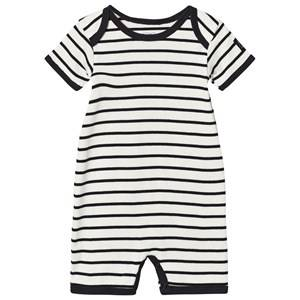 Petit by Sofie Schnoor Unisex All in ones Multi Romper White Black
