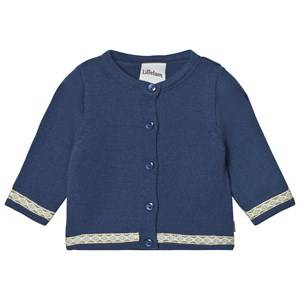 Lillelam Boys Norway Assort Jumpers and knitwear Blue Cardigan Embroidery Navy