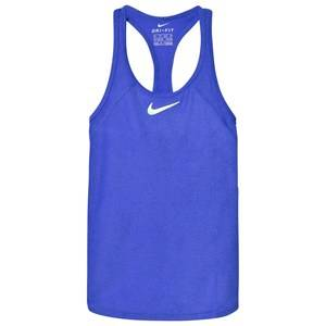NIKE Girls Tops Blue Blue Tennis Slam Tank Top