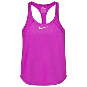 NIKE Girls Tops Purple Purple Tennis Slam Tank Top