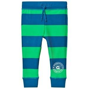 Geggamoja Boys Swimwear and coverups Navy UV Long Pant Marin Green