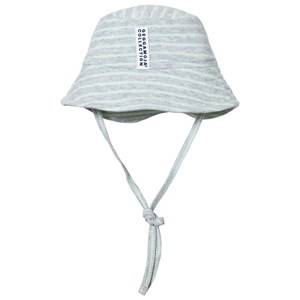 Geggamoja Unisex Headwear Green Sunny Hat Light Grey Melange Mint