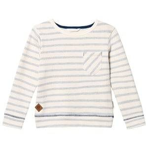 eBBe Kids Boys Jumpers and knitwear Blue Sullivan Sweater Blue Fog Stripes