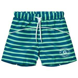 Geggamoja Unisex Swimwear and coverups Navy Swim Pant Marin Green
