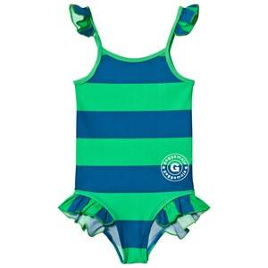 Geggamoja Unisex Swimwear and coverups Navy Swim Suit Marin Green