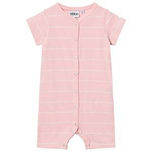 eBBe Kids Girls All in ones Pink Engel Romper Powder Pink/Off White Stripes