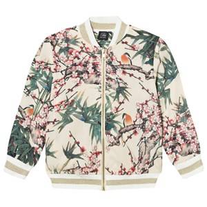 Petit by Sofie Schnoor Girls Coats and jackets Multi Bomber Jacket Bird Print