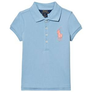 Ralph Lauren Boys Tops Blue Blue Big Pony Pique Polo