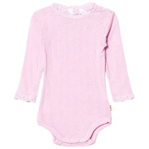 Joha Girls Childrens Clothes All in ones Pink Long Sleeved Baby Body Prime Prime Rose
