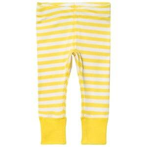 Anïve For The Minors Unisex Bottoms Yellow Baby Leggings Happy Yellow/White Stripes