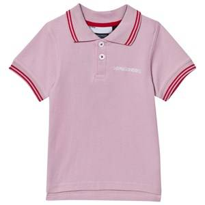 Didriksons Girls Tops Pink Räkan Kids Polo Dusty Pink