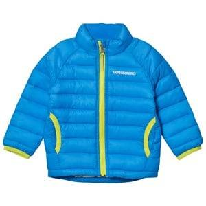 Didriksons Unisex Coats and jackets Blue Umlali Kids Puffer Jacket Sharp Blue