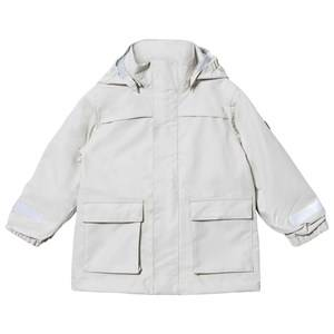 Didriksons Unisex Coats and jackets Beige Sillen Kids Jacket Light Khaki