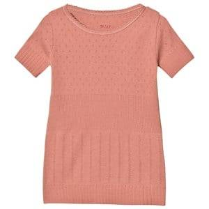 Noa Noa Miniature Girls Tops Pink Doria Mini Basic T-Shirt Brick Dust