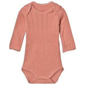 Noa Noa Miniature Girls All in ones Purple Doria Basic Baby Body Brick Dust