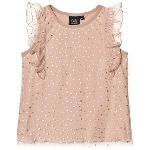Petit by Sofie Schnoor Girls Tops Beige Top Copper Dot