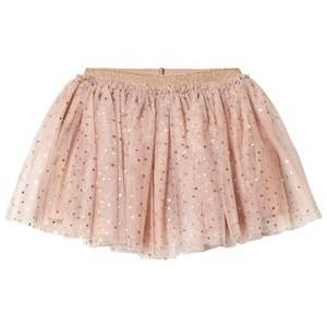 Petit by Sofie Schnoor Girls Skirts Beige Skirt Copper Dot